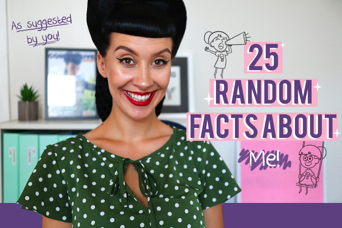 25 Random Facts About Me!