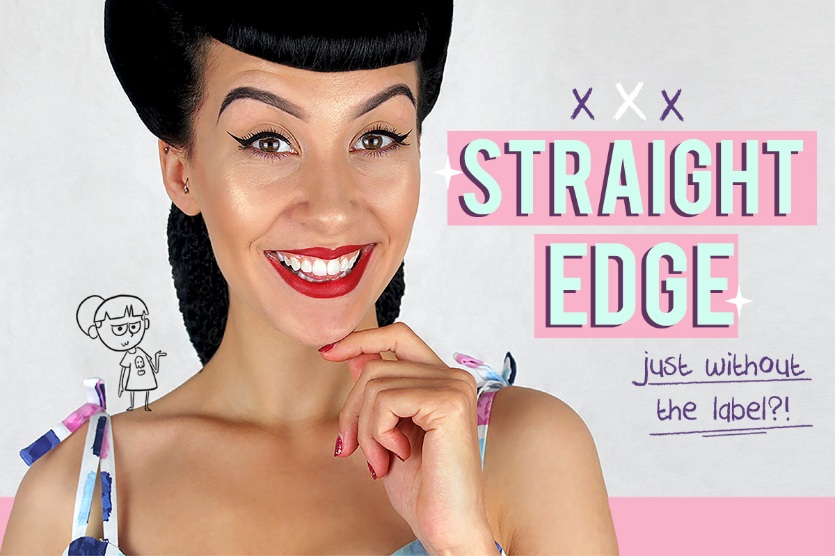 Straight Edge Without the Label!